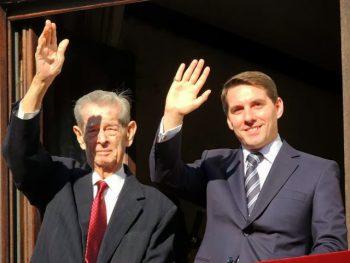 Regele Mihai şi principele Nicolae