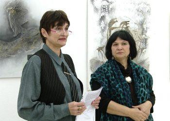 Cristina Gloria Oprişa şi Virginia Pişcoran