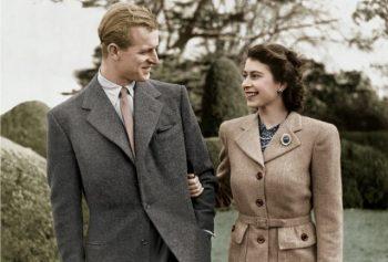 Regina Elisabeta şi principele Philip