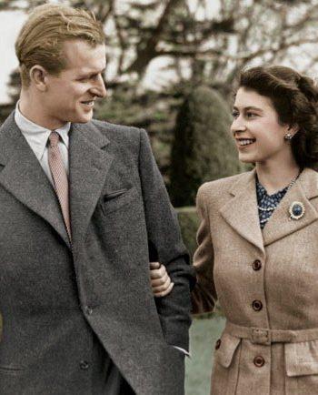 Regina Elisabeta și principele Philip