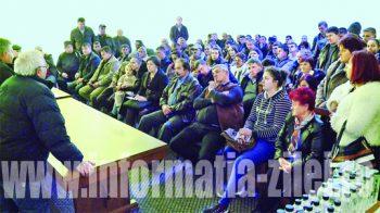 Aproximativ 100 de fermieri crescători de ovine au dat curs invitatiei lansate de conducerea asociatiei