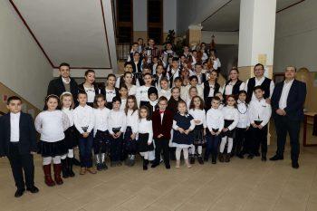 Elevi ai Palatului Copiilor