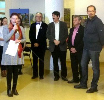 Artiştii şi invitaţii lor