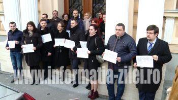 Protest magistrati