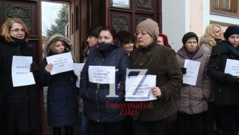 Protest la Casa de Pensii