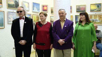 Preşedintele AAP şi artiştii expozanţi