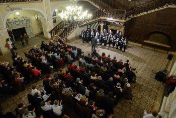 Sala Cavalerilor în seara concertului