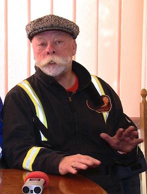 Canadianul Mike Miller a coordonat echipa care a stins flacara de la Moftin