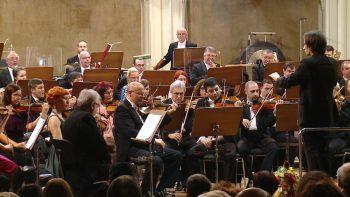 Orchestra dirijată de Ştefan Novak