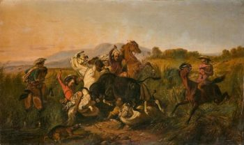 """La chasse au taureau sauvage"""