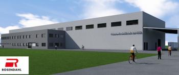 Viitoarea hala Rosendahl