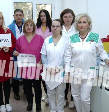 Greva laborator Spital Judetean