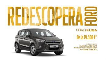 Redescopera placerea condusului cu noil Ford Kuga