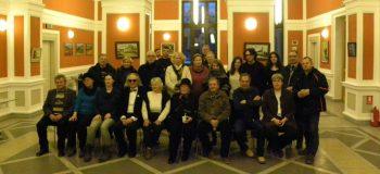 Fotografie de grup la vernisajul de la Cluj
