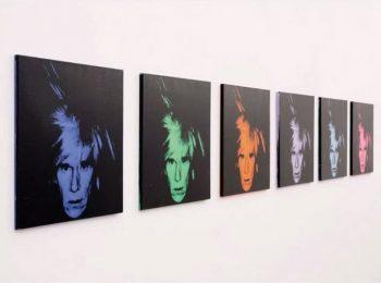 Şase autoportrete