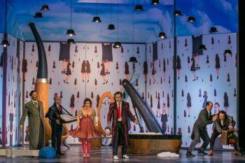 Scenă din spectacolul Operei din Budapesta