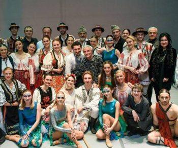 Compozitorul şi balerinii