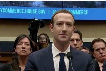 Zuckerberg la a doua audiere