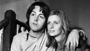 Paul şi Linda McCartney