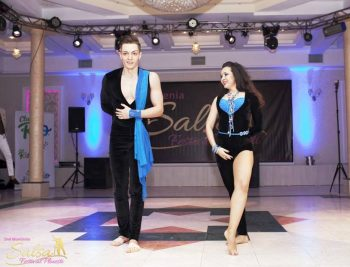 Radu Nedelcu alături de Suzana