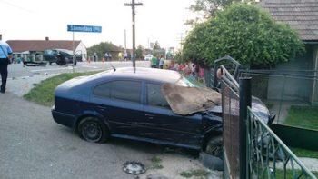 Radarul Politiei, implicat intr-un accident la Moftin