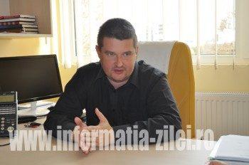Adrian Marc, managerul spitalului Judetean Satu Mare