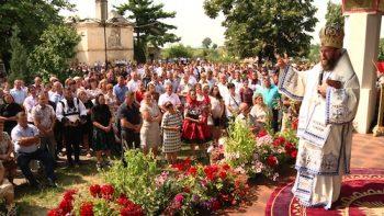 PS Timotei Sătmăreanul a slujit la Mănăstirea Bixad