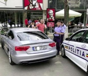 Răzvan Ştefănescu, şoferul maşinii anti-PSD