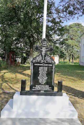 Sâmbătă, la Chegea va fi sfinţit un monument dedicat eroilor