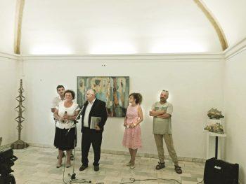 Vernisajul expoziţiei Academiei din Ujgorod