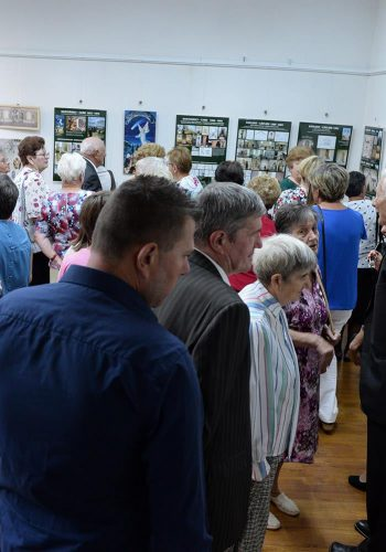 Sălile expoziţiei au fost pline