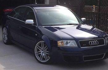 Audi confiscat la Vama