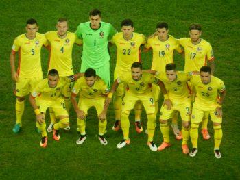 Echipa care a jucart cu Muntenegru la Cluj