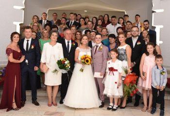 Noua familie Blajean, dupa semnarea certificatului de casatorie