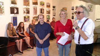 Gergely Csaba prezintă expoziţia