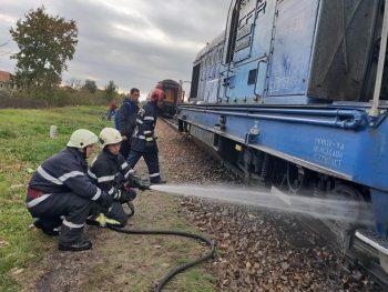 Locomotiva incendiu