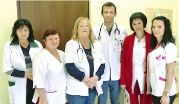 Personalul secției de Oncologie care a participat voluntar la consultațiile mamare