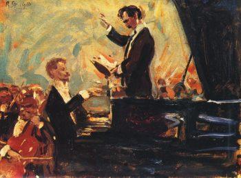 Scriabin la pian (pictură din 1910)