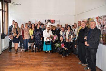 Artisteke şi participanţii la vernisaj