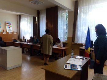 Sectie de votare din Satu Mare