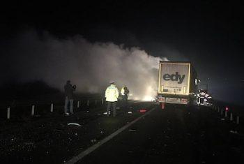 Accident grav pe DN19 petrecut miercuri seara
