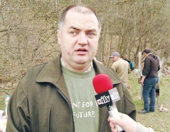 Balogh Sandor. presedintele Asociatiei Valea Bercului