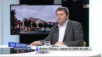 Primarul Arthur Piricsi, din Livada