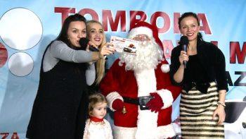Pentru cea mai importantă extragere copilaşii au primit ajutor de la nimeni altul decât Moş Crăciun