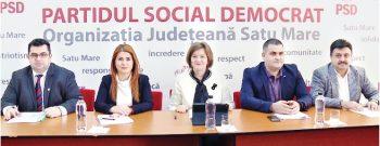 Liderii PSD Satu Mare