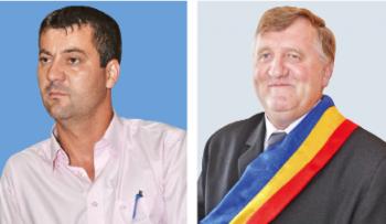 Primarii Vasile Adrian Toma din Batarci şi Ioan Bartok Gurzău, din Beltiug