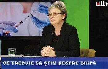 Virusul gripal este cel mai mutant dintre virusuri, a explicat dr. Lidia Tămaș, în cadrul unei emisiuni de Sănătate la Informația TV