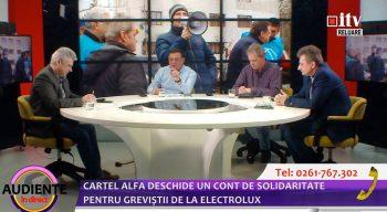Emisiune ITV greva Electrolux