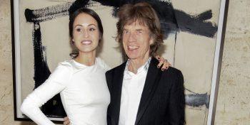 Melanie Hamrick şi Mick Jagger