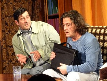 Petre Ghimbăşan şi Sebastian Lupu